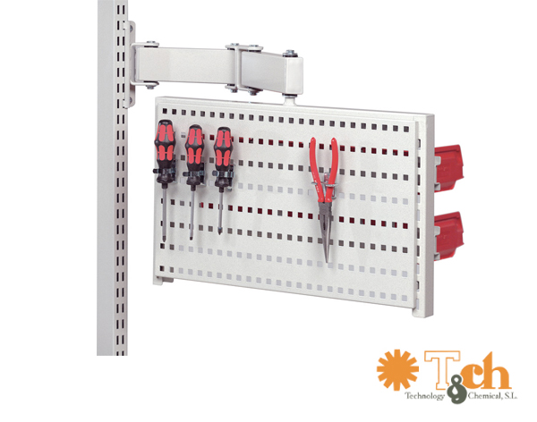 Panel perforado con doble brazo articulado 860951-49 treston tch
