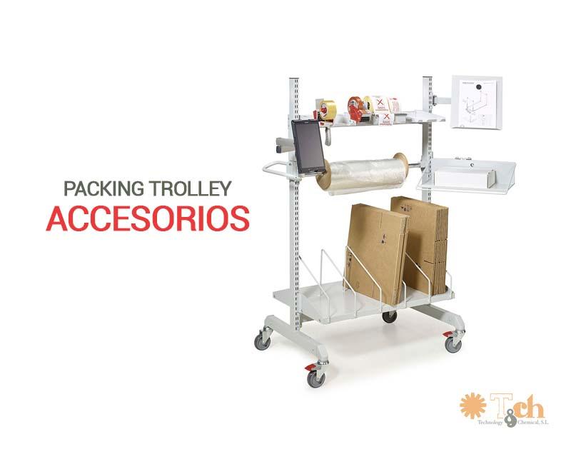 Accesorios para packing trolley treston