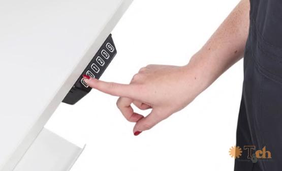 ajuste de altura mesa de embalaje y almacén ergonómica
