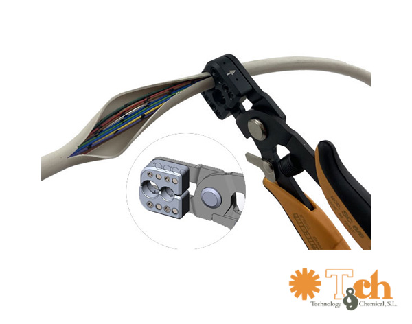 Pelacables para fibra óptica piergiacomi