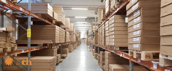 Almacén logístico tienda online