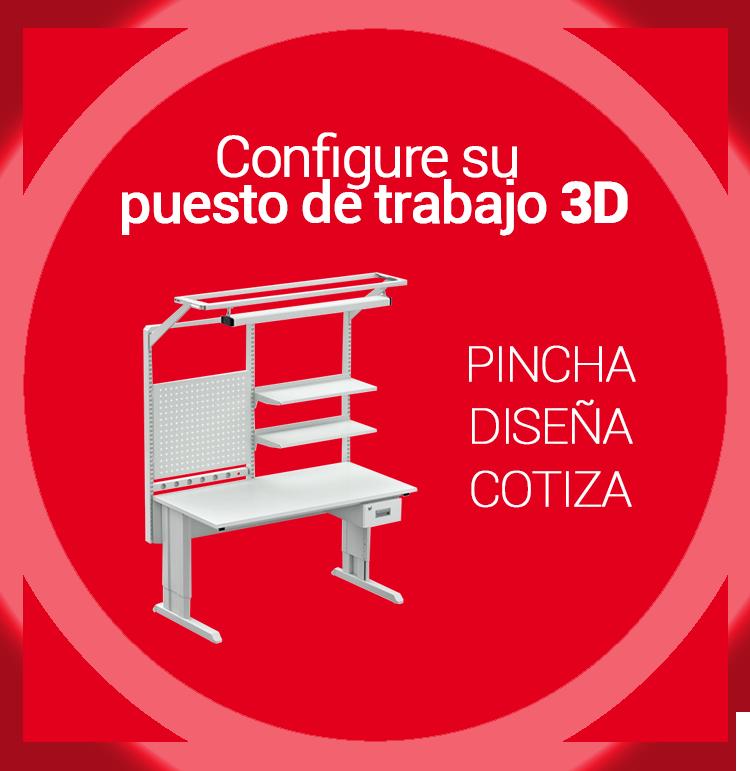 Configure su puesto de trabajo 3D treston tch