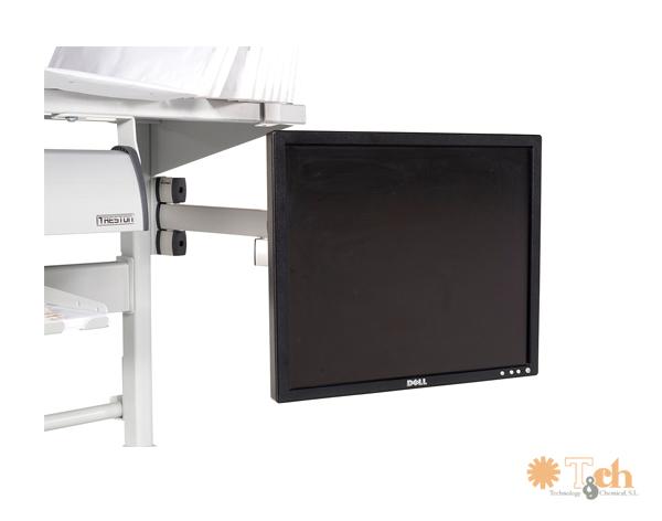 Brazo para monitor LCD para mesa de packing