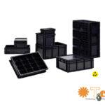Embalaje y transporte de dispositivos sensibles ESD