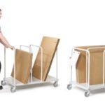 Carros para cada actividad logística