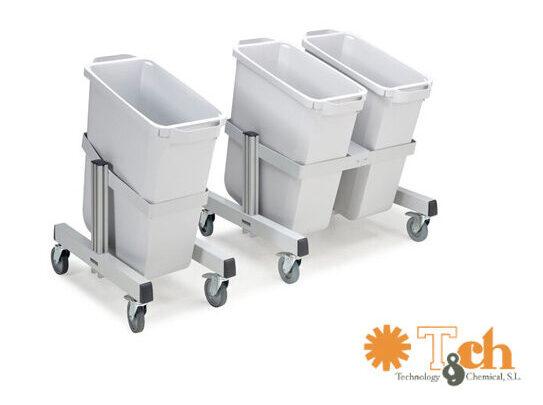 PRMT trolley para reciclaje de material de treston