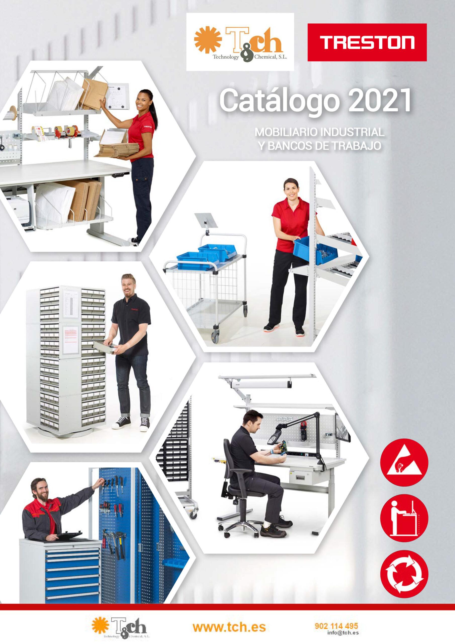 Catálogo mobiliario técnico Treston 2021 tch