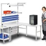 Mobiliario para almacén: banco de trabajo TP