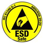 El control de los medios de protección ESD del personal