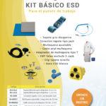 Kit ESD para el puesto de trabajo