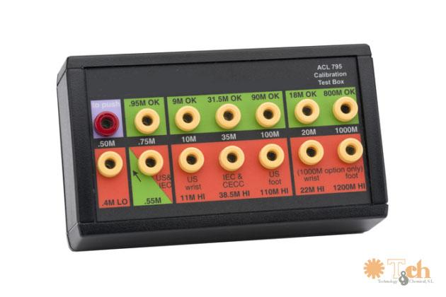 Set de calibración ACL 750