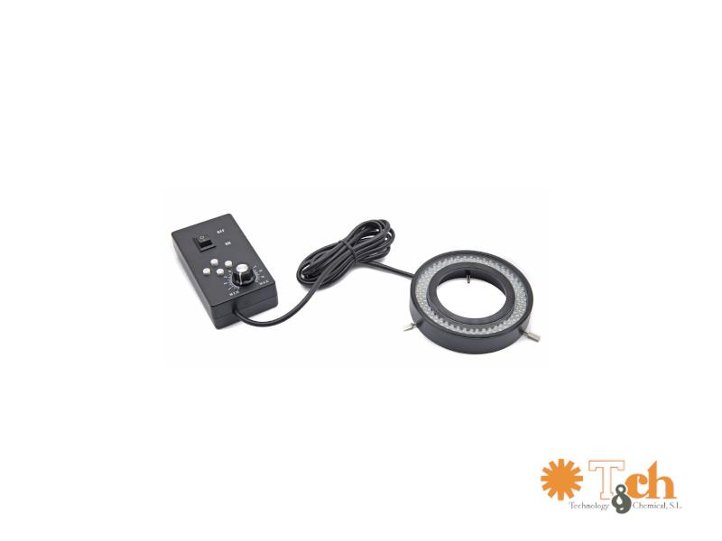 Iluminación LED anular MC-CL-16.1 para microscopios tch optika