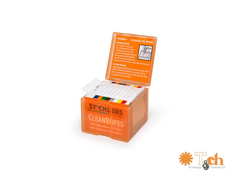 Toallitas fibra óptica MCC-WSC640 640 conectores