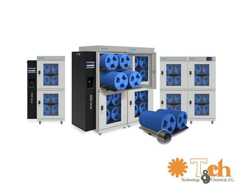 Cabinas de secado MSD totech superdry tch