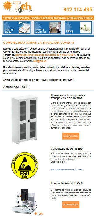 Newsletter marzo 2020 tch