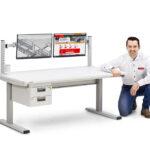 Instrucciones de montaje de la mesa motorizada TED