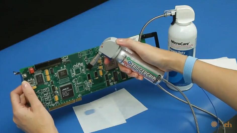 Limpieza electrónica y fibra óptica Microcare