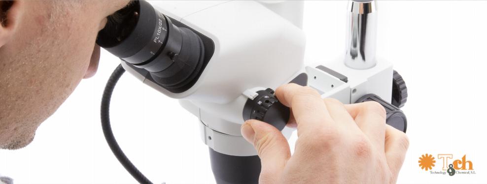 Microscopio binocular trinocular esd tch