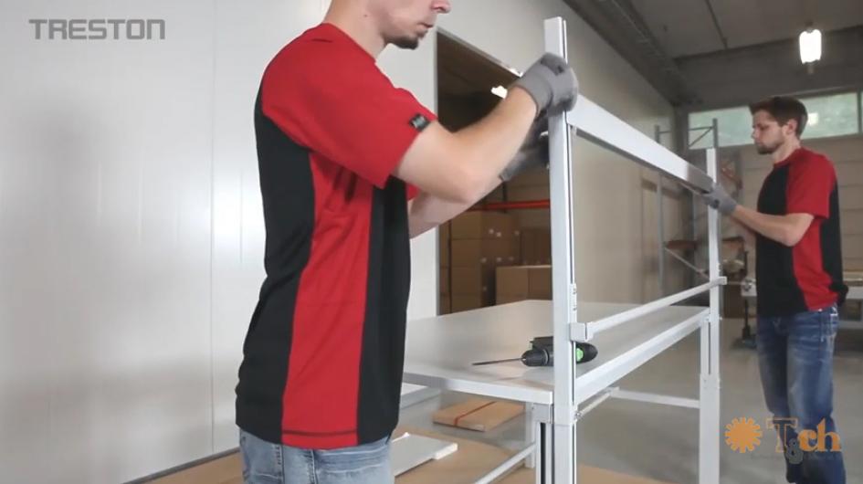instrucciones de montaje banco de trabajo tpb packing treston tch