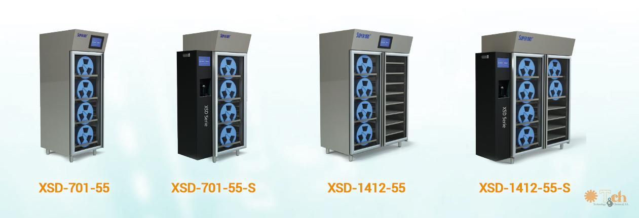 Modelos Cabinas de control de humedad XSD Totech