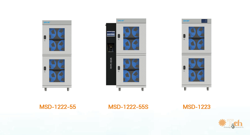 Nuevas cabinas modulares MSD totech superdry