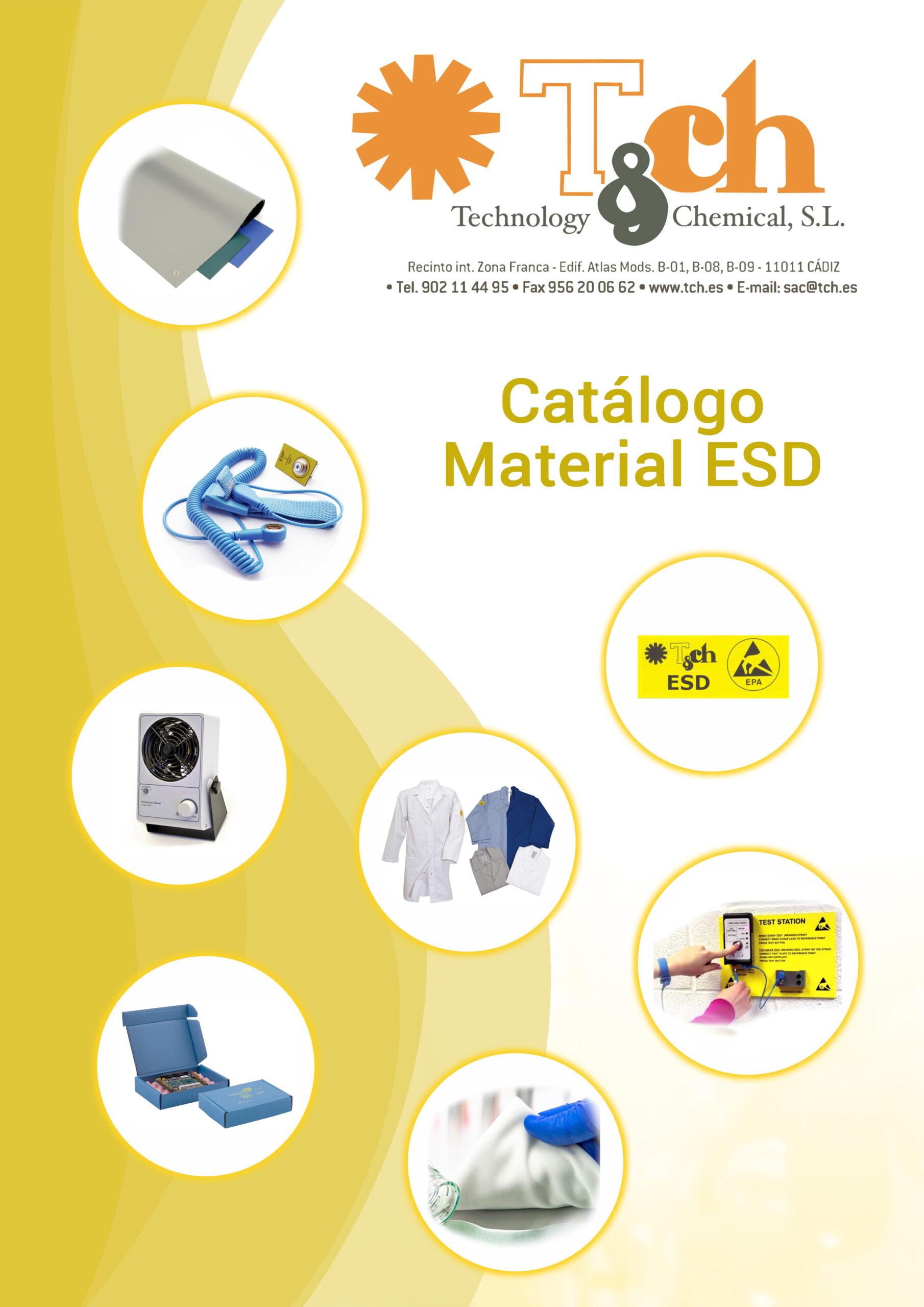 Catálogo protección ESD