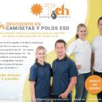 35% de descuento en camisetas y polos ESD