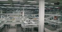 Almacén logístico de PUMA en Alemania
