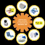 Material básico para la protección ESD