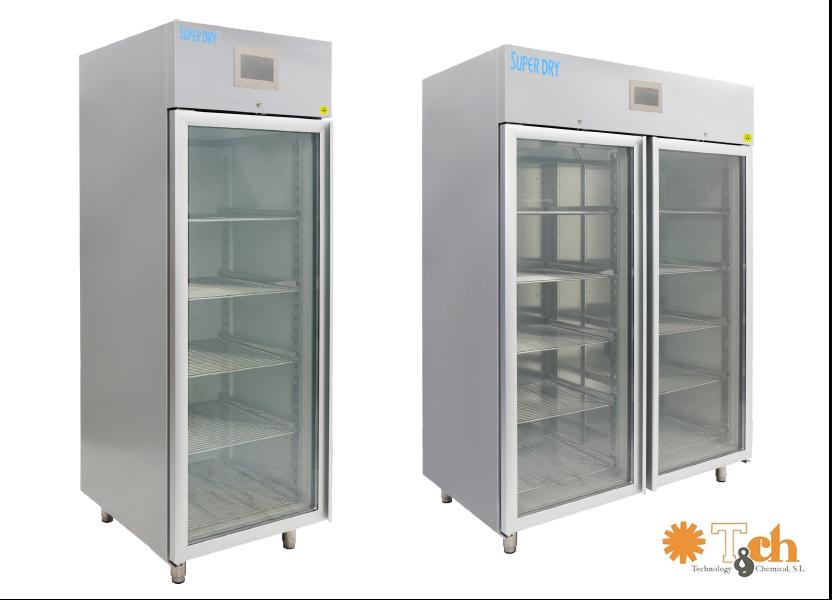 Cabinas serie XSD para control de la humedad relativa