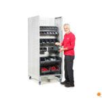 Sistema modular treston tower tch packing almacén