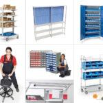 mobiliario para almacén y empaquetado treston tch