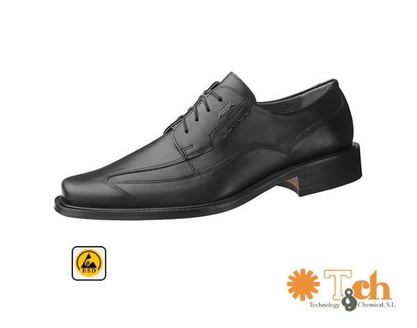Calzado masculino formal antiestático
