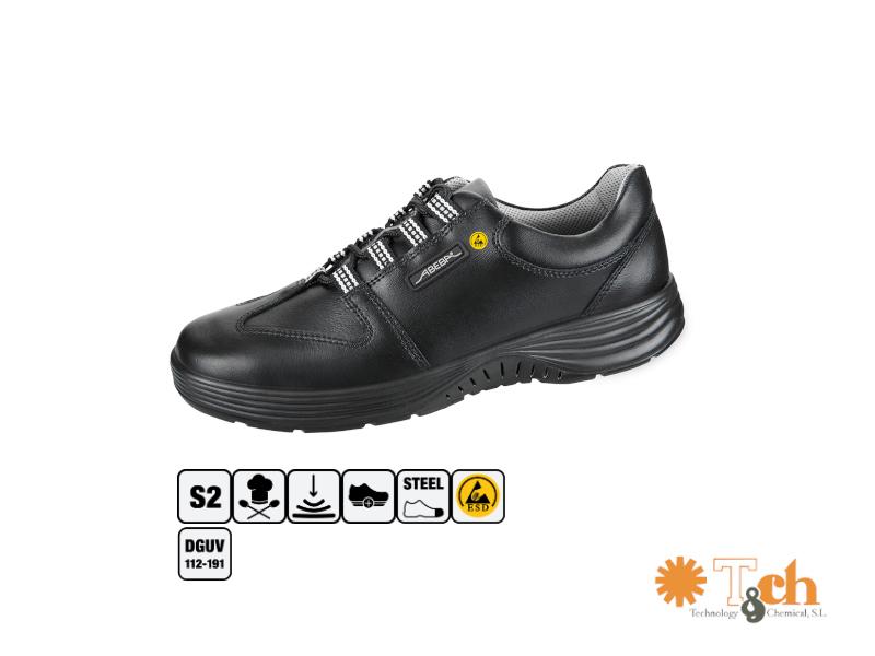 Zapatos deportivos antiestático con punta de acero reforzada abeba