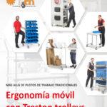 Nuevo catálogo de carros y ergonomía móvil de TRESTON