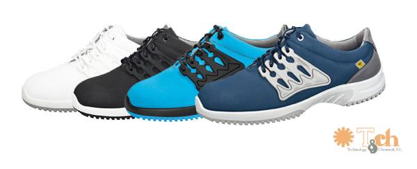 Zapatos deportivos antiestáticos colores abeba