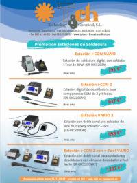 Promoción Estaciones de soldadura ERSA