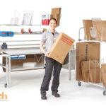 Carros multifuncionales para su almacén logístico