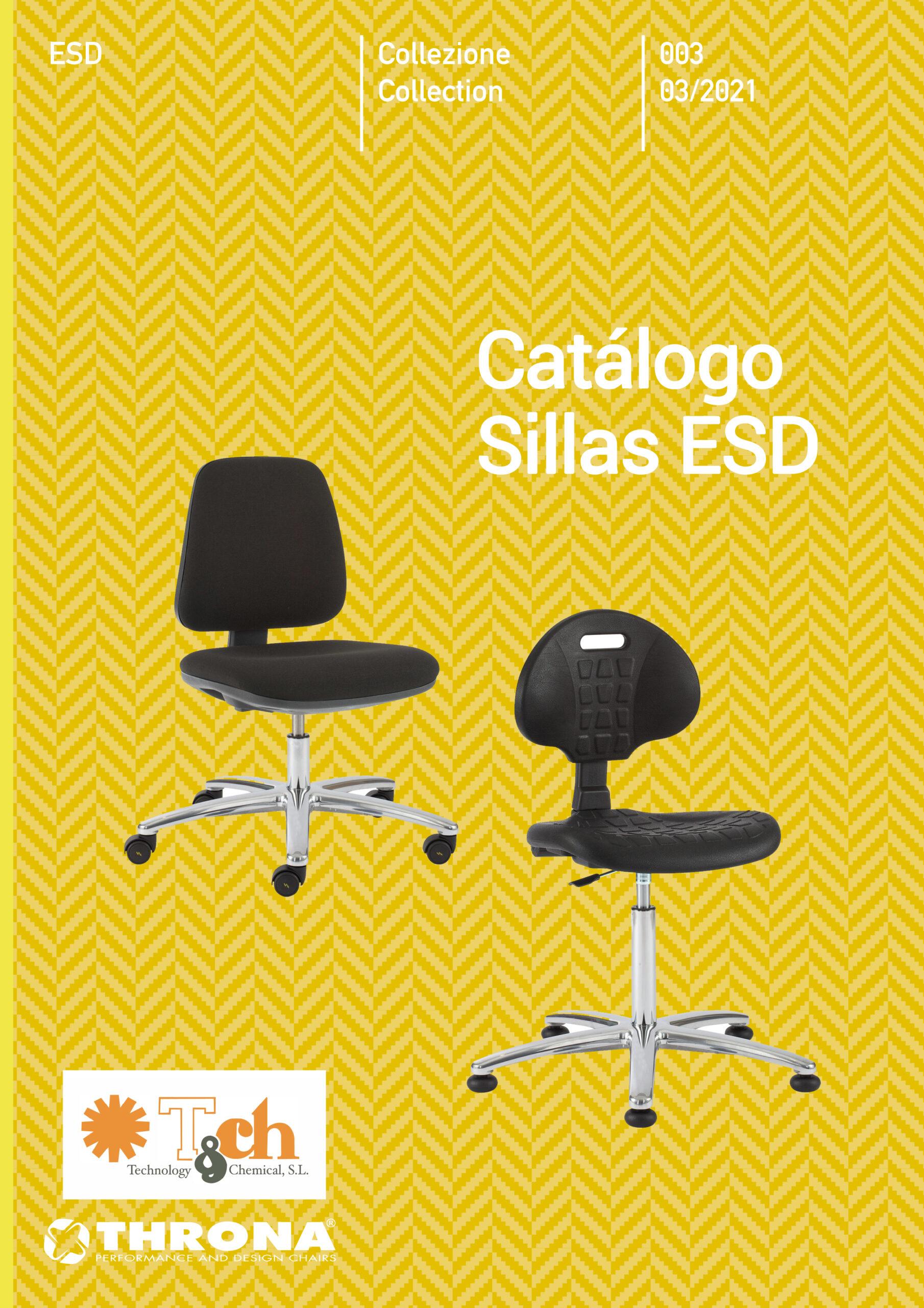 Catálogo sillas ESD