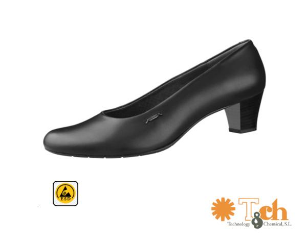 Calzado femenino formal antiestático